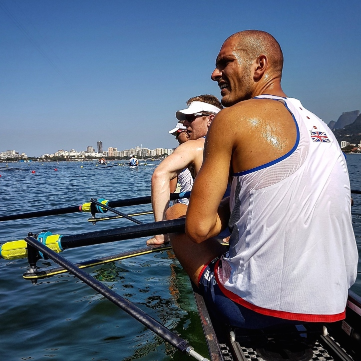 @AlexGregoryGB posted on 5 Aug. Eight days before the Olympic Regatta started: 'It's starting to feel real now'.