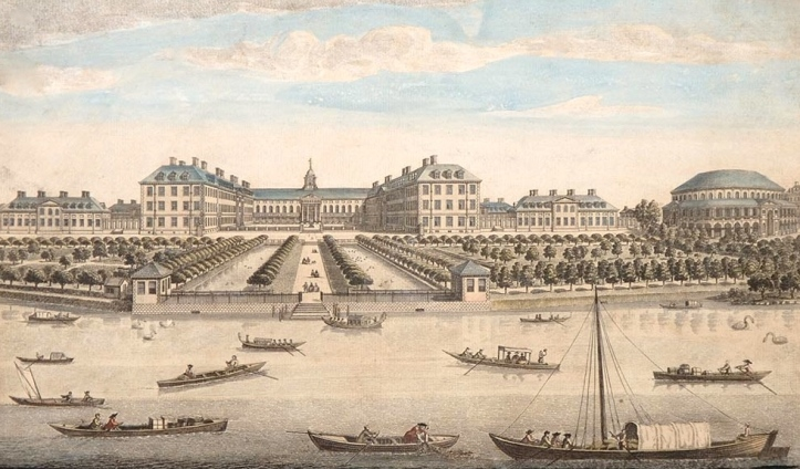 Ranelagh Gardens and the Royal Hospital, 1751.