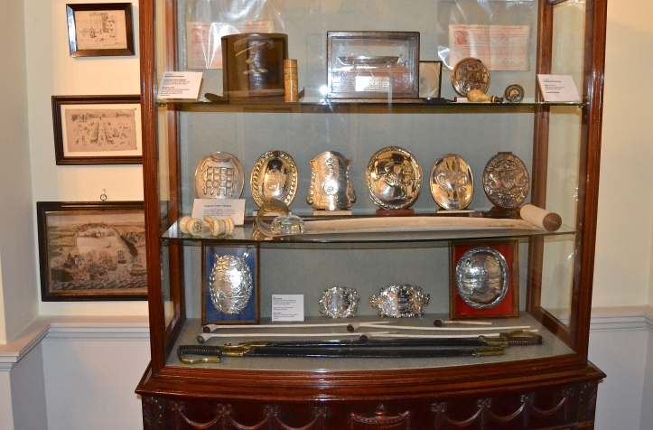Some treasures on display in the Parlour.