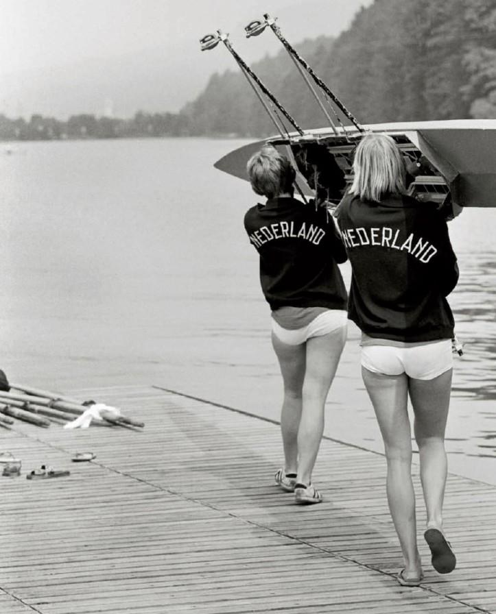 Dutch women rowers