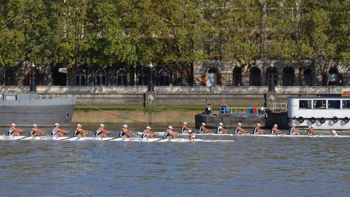 In the men's race, Molesey Boat Club were again the winners, defeating their rivals from London Rowing Club.