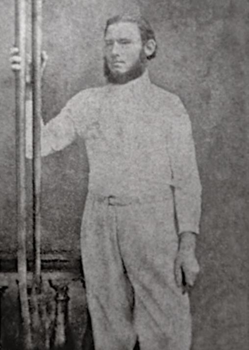 Richard Augustus Willoughby Green (1836 - 1921) photographed in 1863.