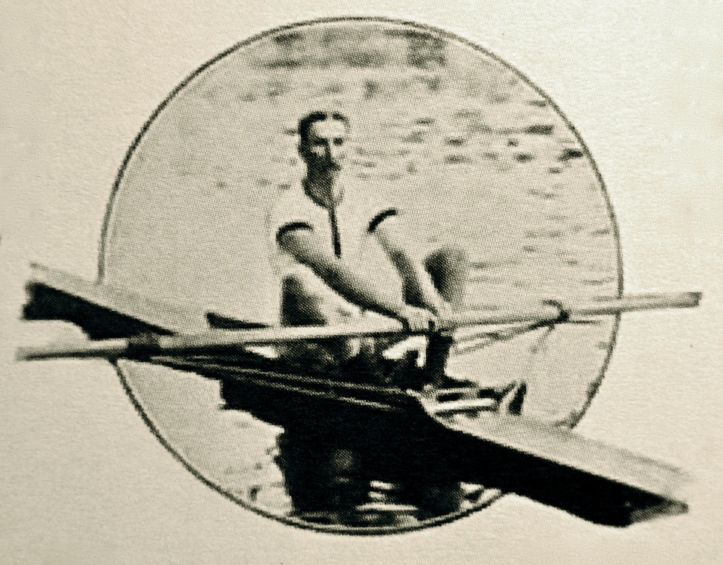WHV Darell at Henley in 1907.