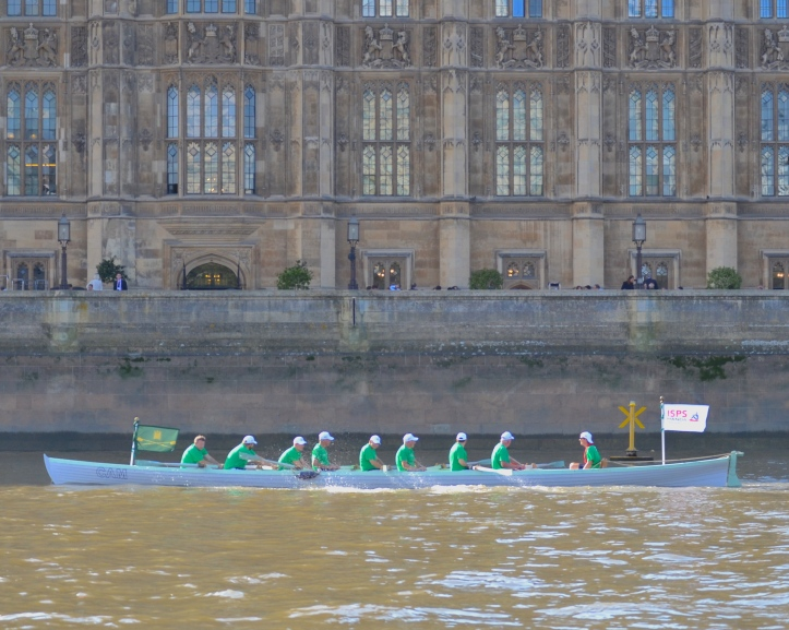 The Commons boat returns.