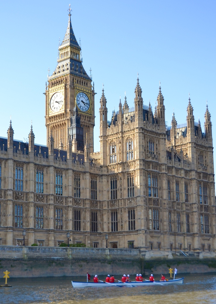 The Lords and the iconic clock tower popularly known as 'Big Ben'.
