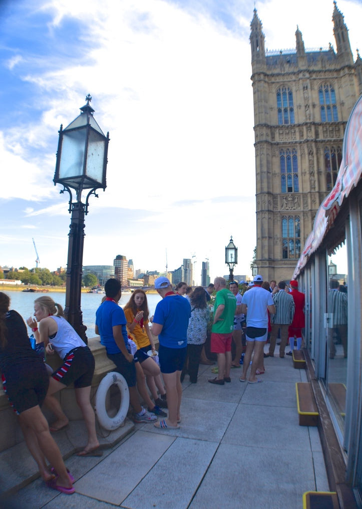 The terrace of the House of Lords.