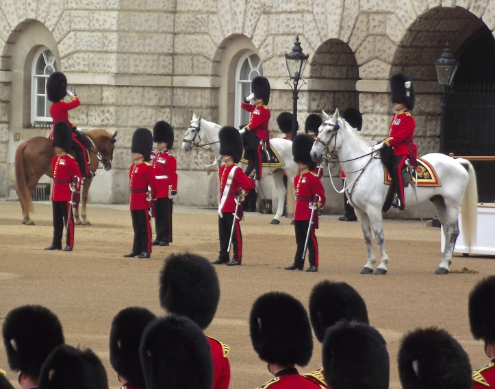 Reporting to the Senior Officers. Guards officers, particularly junior ones, are traditionally called 'Ruperts' by the ordinary Guardsmen, implying that their commanders are from some effete and aristocratic 'officer class'. I could not possibly comment.