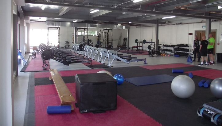 The new gym.