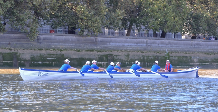 London Youth Rowing 'Blue'.