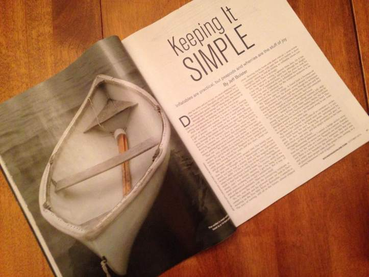 Brilliant article by Jeff Bolston on rowing in the magazine Soundings October issue.