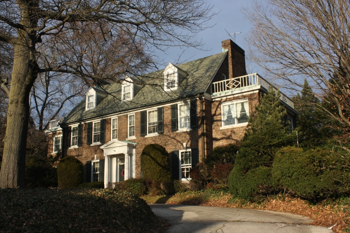 The Kelly family house in East Falls, Philadelphia was recently purchased by Prince Albert of Monaco. The prince's plan is to turn his mother's former home into a museum. The house was built in 1929 by Grace Kelly's father, Jack Kelly, famous Olympian gold medallist rowers. Photo: Shuvae/WikiMedia.