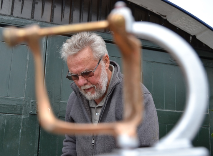 Bill Colley – building wooden racing boats since 1952.