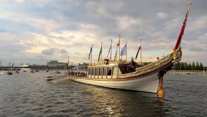 Gloriana and skerries.