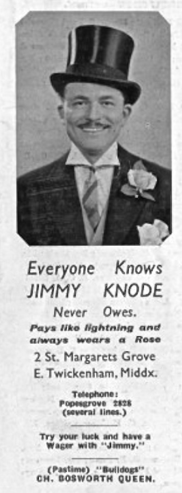 Jimmy Knode – a character.