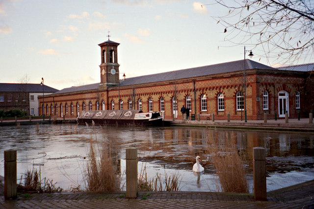 The Royal Small Arms Factory (RSAF), a rifle factory in the Lea Valley.