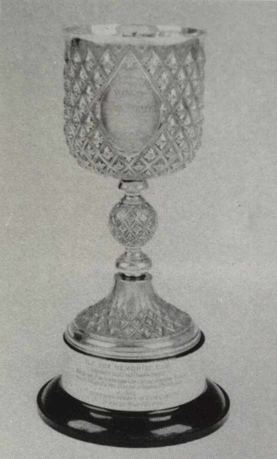 The C. V. Fox Memorial Cup – originally the presentation prize for winning the Diamond Challenge Cup at Henley Royal Regatta in 1901. Photo: Raymond Blake.