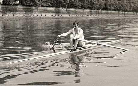 Thomas Anthony 'Tony' Fox winner of rowing's Triple Crown in 1951.