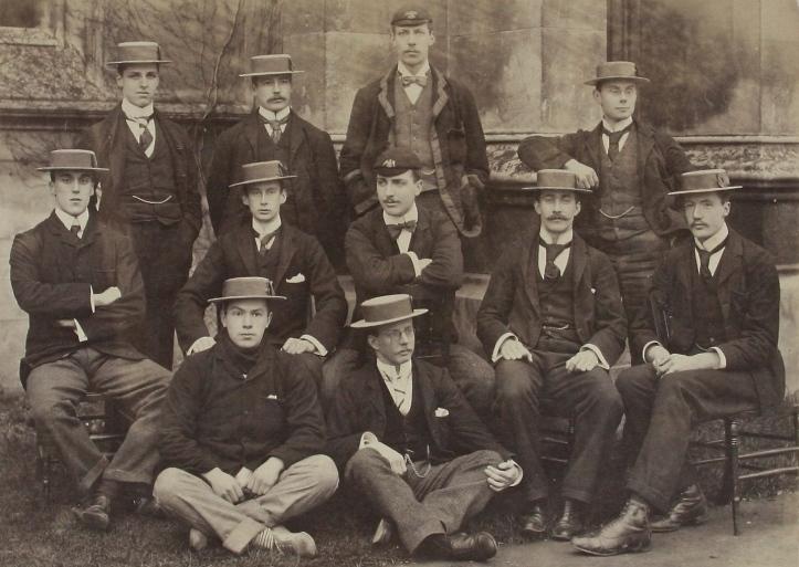 St John's College, Cambridge, aka Lady Margaret Boat Club, 1896.