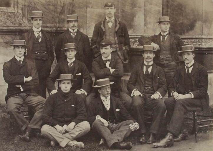St John's College, Cambridge, aka Lady Margaret Boat Club, 1896.