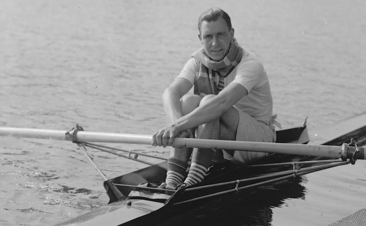 Geoff in training at Henley, 1925.