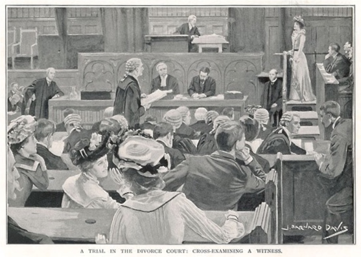 A divorce court of the 1900s.