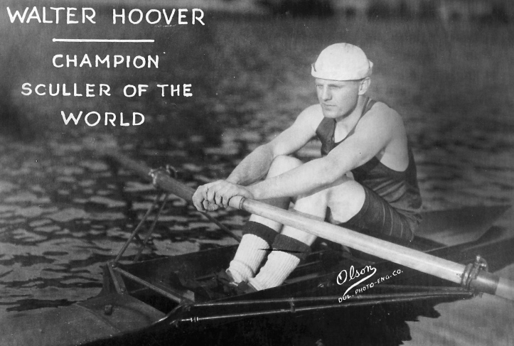 Pic 9. Walter M Hoover – unorthodox but fast.