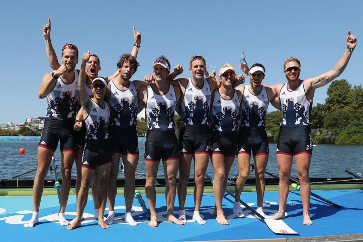 The 2016 GB Men's Eight – Gold at Rio, honours at home.