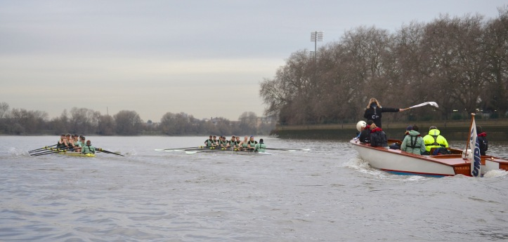 Approaching the end of Putney Embankment.