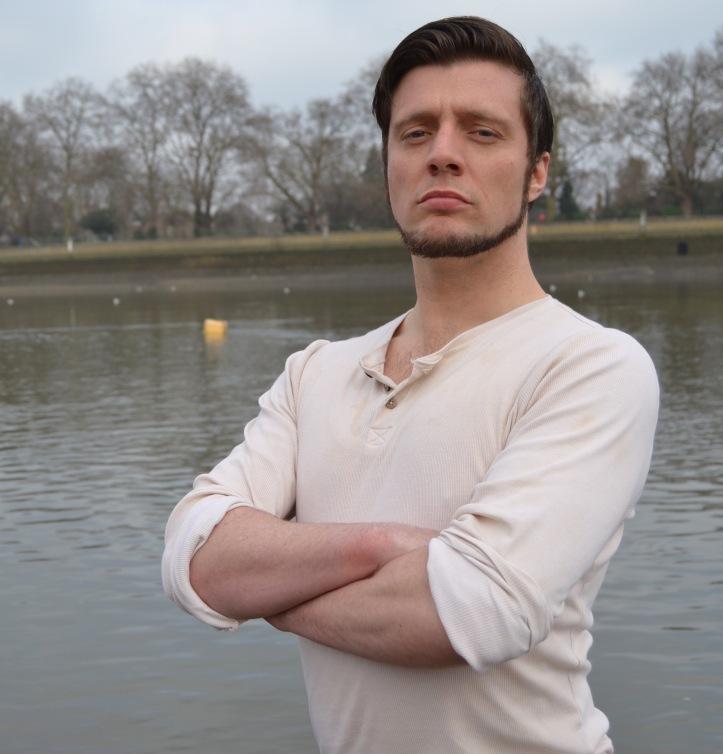Jamie Brown as Harry 'Hadaway' Clasper. Photo: Tim Koch.