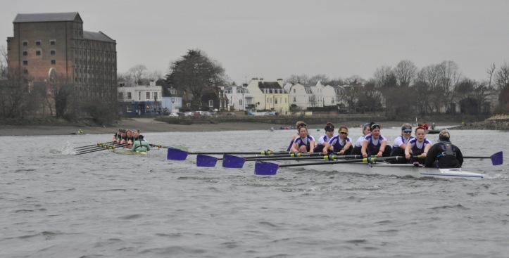A headwind after Barnes did nothing to help UL who continued in the wake of a strong Cambridge.