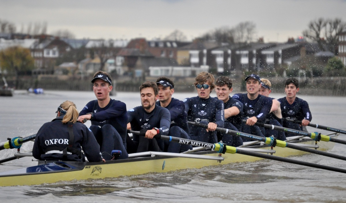 The Oxford Men's Trial Eights: Out Of The Strong Came Forth Swiftness*