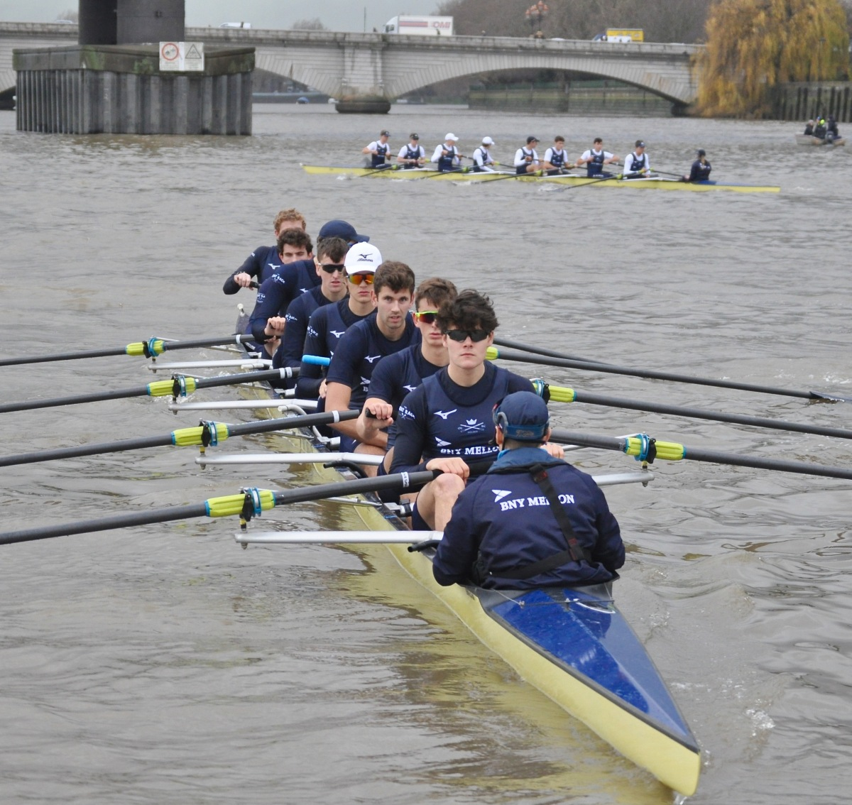 Oxford's Boat Race Trials: Flea Bites, Comet Soars